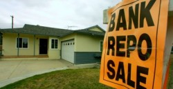 Apr 15, 2008 - Santa Ana, California, USA - As a result of the housing crisis, some Santa Ana neighborhoods are plagued with bank repo, foreclosure, and price reduced signs.(Credit Image: © Jebb Harris/The Orange County Register/ZUMAPRESS.com)