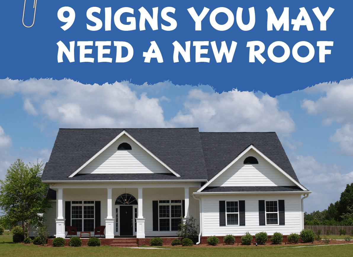 9 Alarming Signs Your Roof Needs Repair