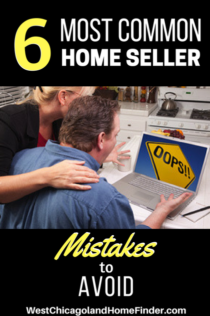 The 6 Most Common Home Seller Mistakes to Avoid