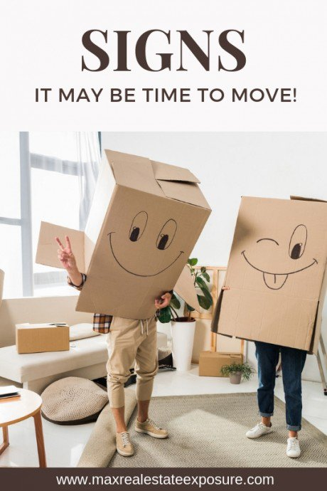Signs it May Be Time to Move From Your Current House